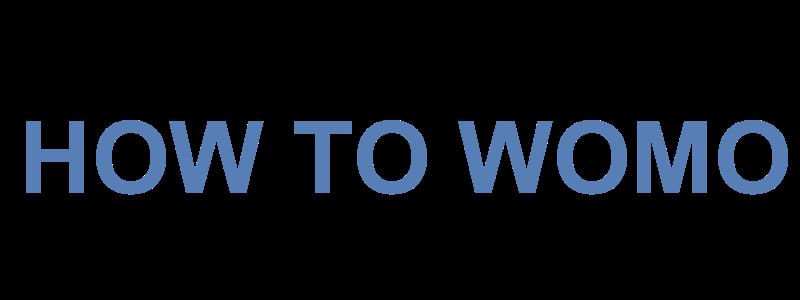 HOW TO WOMO Logo